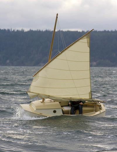 Melonseed Sailboat Plans